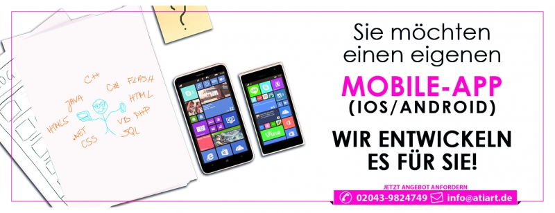 Mobile-APP (IOS/ANDROID) Programmierung